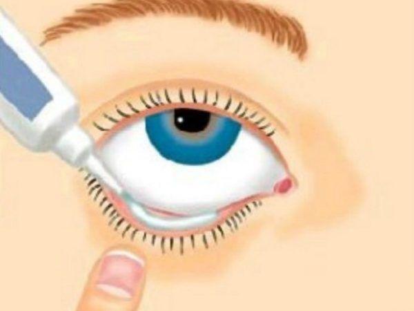 Как применять глазную мазь