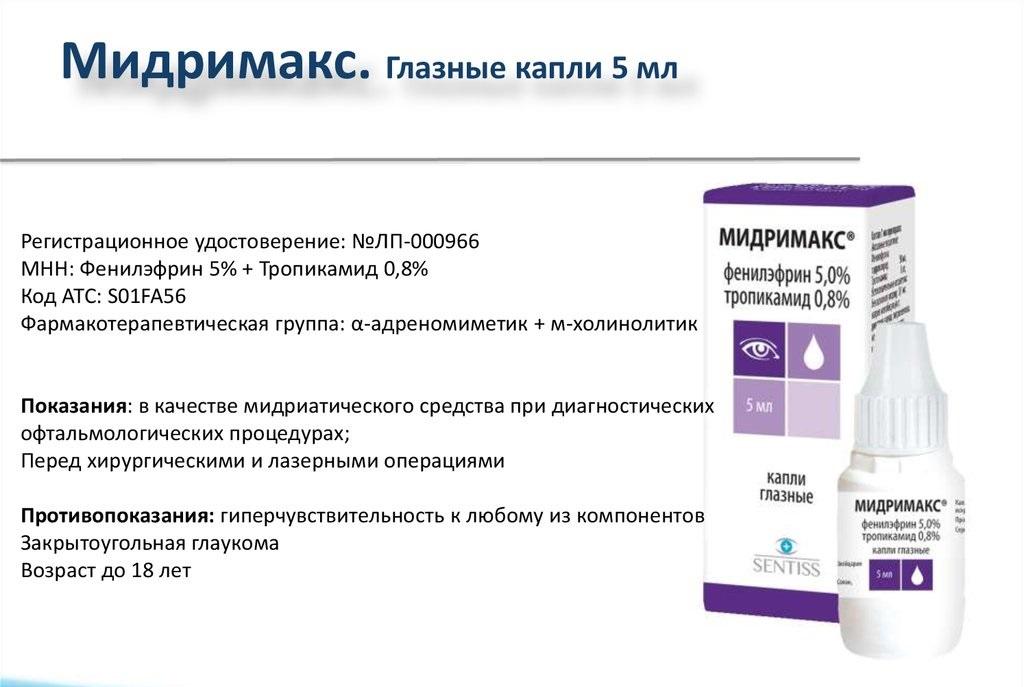 Краткие сведения о препарате