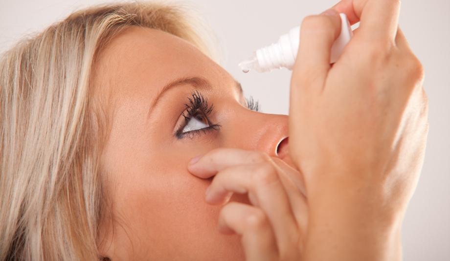 Лечение глазными каплями
