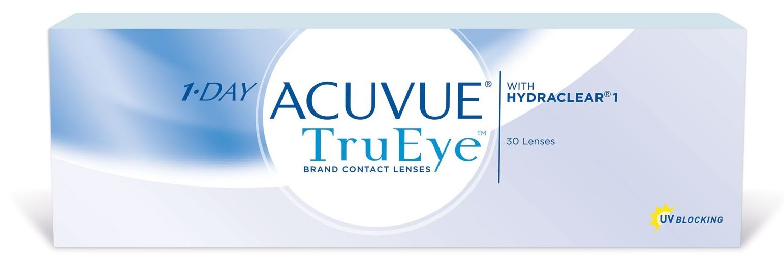 Однодневные силикон-гидрогелевые контактные линзы 1•DAY ACUVUE TruEye
