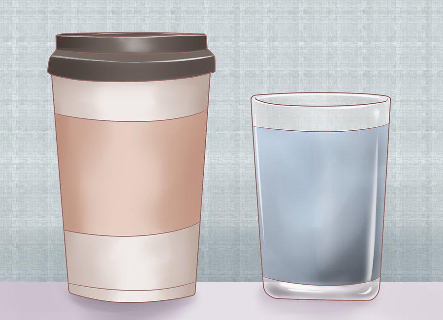 Пейте воду вместо привычных напитков