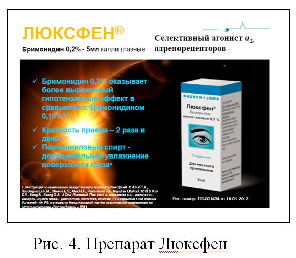 Препарат «Люксфен»