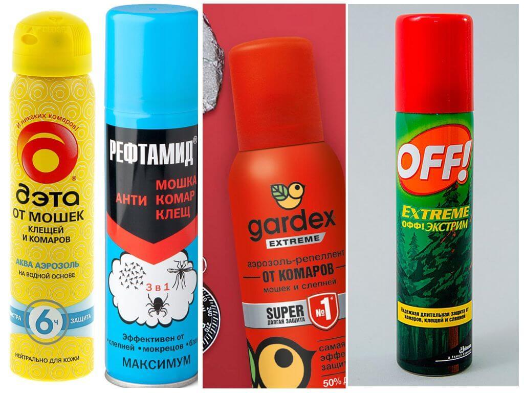 Средства для защиты от насекомых