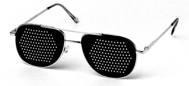 Тренажерные очки для глаз