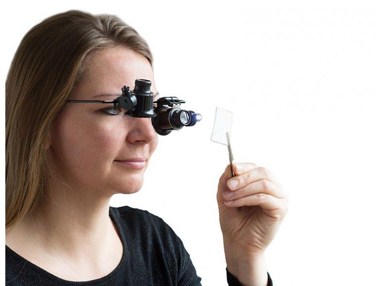 Увеличительные очки для мелких работ - фото