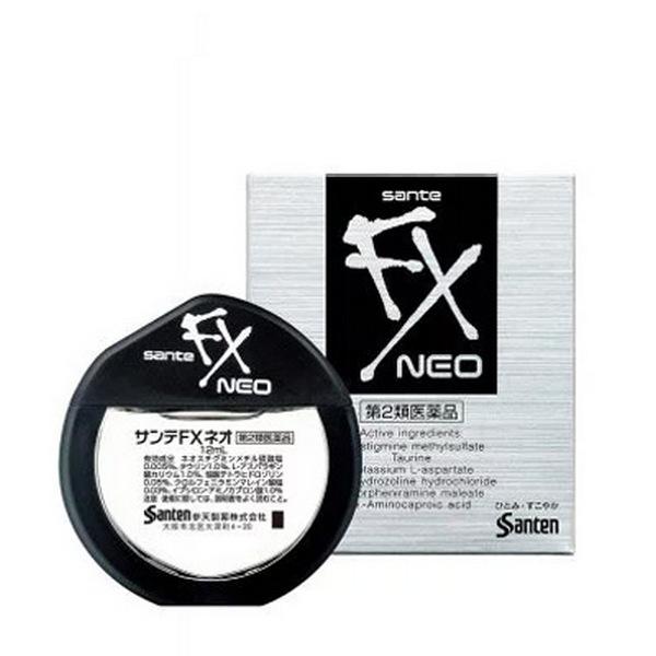 Японские витаминные капли для глаз «Sante Fx Neo»