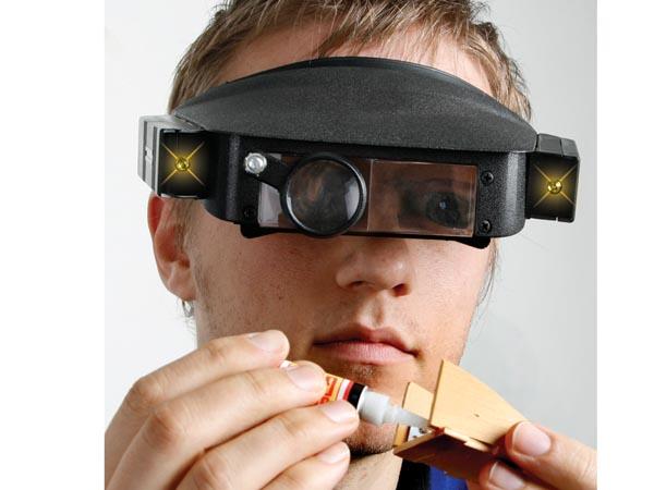 Увеличительные очки крайне необходимы для повышения комфорта при работе с мелкими деталями