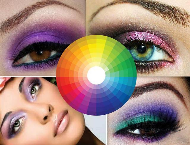 Важно правильно выбирать цвета, используемые в макияже глаз