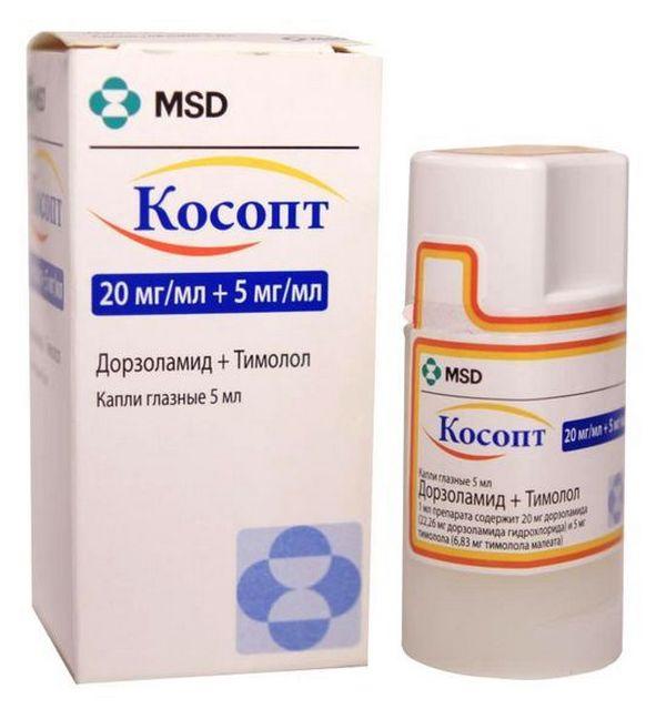 Обычно побочных эффектов от применения «Косопта» не наблюдается, однако у пациентов с повышенной чувствительностью к компонентам средства и болезнями систем организма они могут проявиться