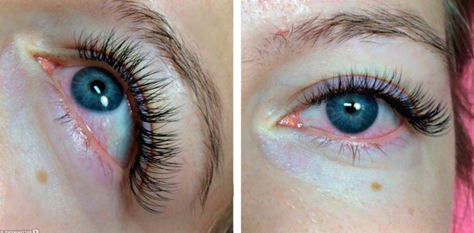 Наращивание ресниц: щиплет глаза