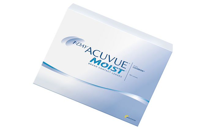 Линзы для глаз 1-day acuvue