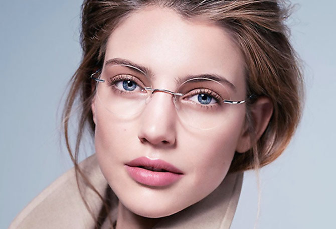 Безоправные очки