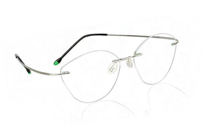 """Безоправные очки """"кошачий глаз"""""""