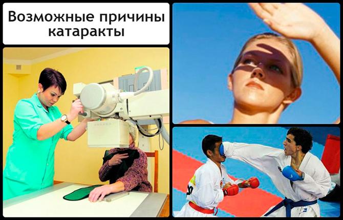 Помутнение хрусталика глаза - причины снижения прозрачности зрачка