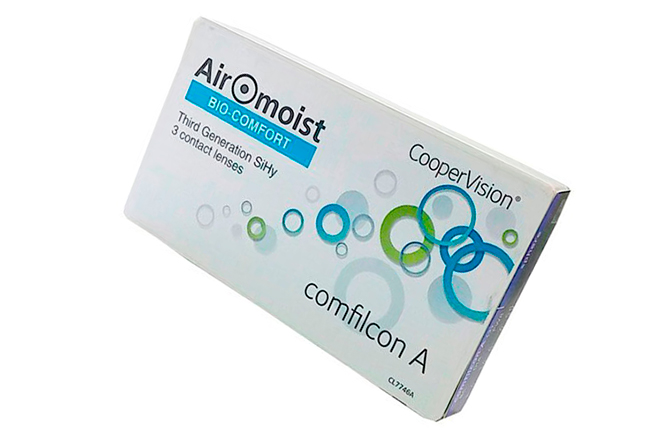 Линзы Airomoist Bio-Comfort CooperVision