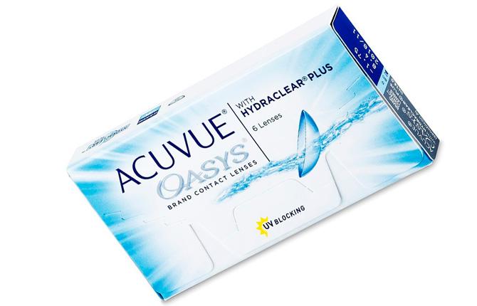 Линзы Acuvue Oasys