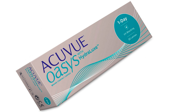 ACUVUE OASYS with Hydra Luxe