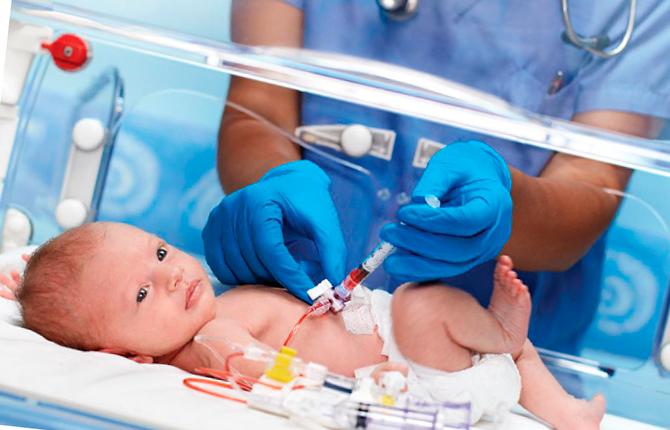 Профилактика желтухи у новорожденного